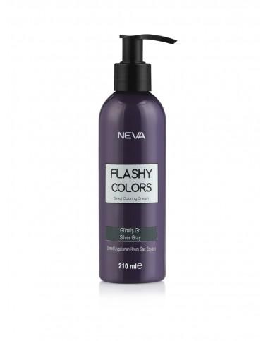 NEVA цветной крем-тоник для волос, Silver Gray (215 мл)