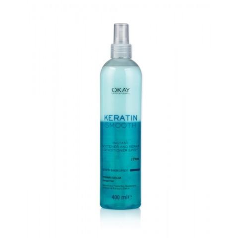 Профессиональный кондиционер/спрей с кератином для повреждённых волос (400 мл)