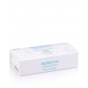 Ампулы для поврежденных волос с кератином 7*10